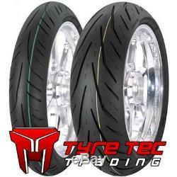 120/70-17 & 190/50-17 Avon STORM 3D XM TRIUMPH 955 DAYTONA T595 955I Tyres NEW