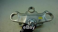 1998 Triumph Daytona T595 955i T 595 S394. Triple tree steering stem clamp yoke