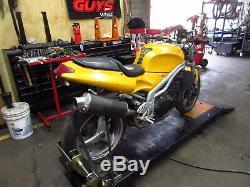 2000 99-04 Triumph Daytona 955i Oem Fork Tubes Front Suspension Tree Risers Lot