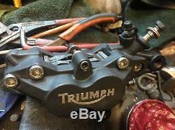 2001 Caspian Blue Triumph Daytona 955i like T595 sympathetic resto CBR900 TL1000