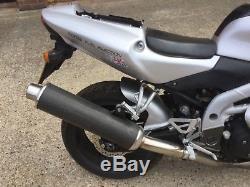 2001 Silver Triumph Daytona 955i Spares Or Repair Project