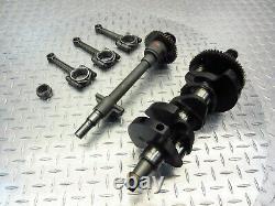 2002 02-06 Triumph Daytona 955i OEM Crankshaft Connecting Rods Balancer Lot