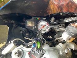 2003 Triumph Daytona 955i Centennial Edition-single swinging arm carbon parts