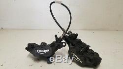 2004 Triumph 955I 955 I Daytona front brake calipers