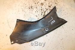 2005 05 Triumph Daytona 955i 955 Left Inner Fairing Cowl Panel Infill Duct Cover