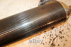 2005 05 Triumph Daytona 955i 955 Oem Carbon Exhaust Muffler Exhaust Silencer