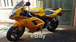 2005 (55) Daytona 955i Yellow excellent condition