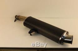 97-01 Triumph Daytona 955i Exhaust Pipe Muffler Slip On Can -stock Oem 1022