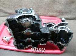 97 TRIUMPH DAYTONA 955 955i T595 ENGINE CASE, UPPER, CYLINDERS, PISTONS #UH61