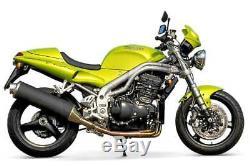A9600120 Triumph Carbon Exhaust High Level Silencer Daytona 955i Speed Triple