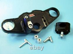 ABM Superbike Booster Lenker-Kit TRIUMPH Daytona 955i (595N) 02-03 schwarz