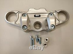 ABM Superbike Booster Lenker-Kit Triumph Daytona 955i (T595) 99-01 silber