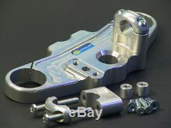 ABM Superbike Lenker Umbau-Kit TRIUMPH Daytona 955i // 02-03 FzTyp 595N silber