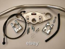 Abm Superbike Handlebar Kit Triumph Daytona 955i (595N) 02-03 Silver