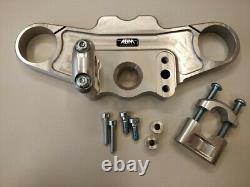 Abm Superbike Handlebar Kit Triumph Daytona 955i (T595) 99-01 Silver