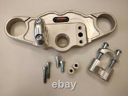 Abm Superbike Yoke Triumph Daytona 955i (595N) 02-03 Silver
