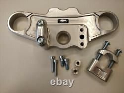 Abm Superbike Yoke Triumph Daytona 955i (T595) 99-01 Silver