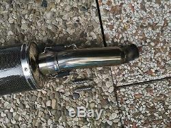 BOS Carbon Schalldämpfer Triumph Daytona Speed Triple 955i T595 T509 Auspuff