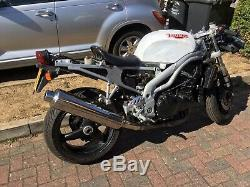 Cafe racer. Trackbike Street Fighter donor 2001/X Triumph Daytona 955i Low Mil