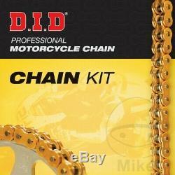 DID X-Ring Gold 530ZVMX Chain & JT Sprocket Kit 18/43 Triumph Daytona 955 i 1998