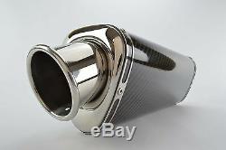 Daytona 955i 97-01 SP Engineering Carbon Fibre Tri-Oval Big Bore XLS Exhaust