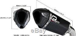 Exhaust for TRIUMPH DAYTONA 955i 97-06 GRmoto Muffler Carbon Titanium