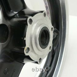 Felge vorne Triumph Daytona 955i T595 T509 Speed Triple schwarz poliert