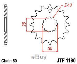Fits Triumph Daytona 955i 2003-2006 DID ZVMX Gold X-Ring Chain JT Sprockets