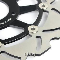 For Daytona 955i 01-06 Sprint ST 1050 05-10 Rocket III Pair Front Brake Discs