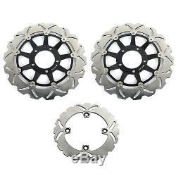 For Daytona T955 955i 01-06 Speed Triple T955 02-04 Front Rear Brake Discs Disks
