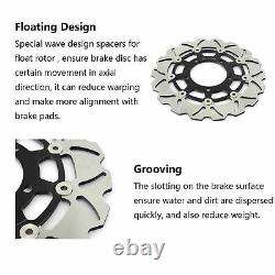 For TRIUMPH Daytona T595 950 T955i 955 Speed Triple 900 955 Front Brake Discs