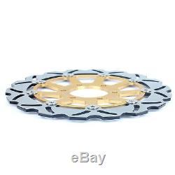 Front Rear Brake Discs Disks For Daytona T595 950 T955i 955 Speed Triple 900 955