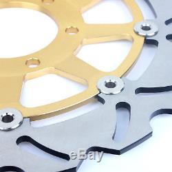 Front Rear Brake Discs Disks Rotors T955 T509 SPEED TRIPLE T595 T955i DAYTONA