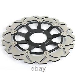 Front Rear Brake Discs Rotors For Triumph Daytona T595 T955 955i 02 03 04 05 06