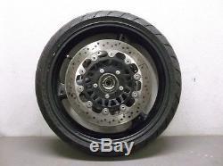 Front Wheel and Brake Rotors for 2005 Triumph 955i Daytona