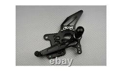 Full Black Racing Adjustable AVDB Rearsets TRIUMPH DAYTONA 955I T595 1997-2001