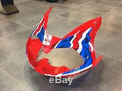 GENUINE Triumph Daytona 955i 0104 Union Flag Nose Cone Fairing Red 63% OFF RRP