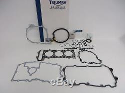 Genuine Triumph Full Engine Gasket Kit Daytona 955i 1997-2006 T3990075