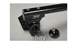 High Rise Adjustable Clip Ons Silver 45mm TRIUMPH DAYTONA 955I T595 1997-2001
