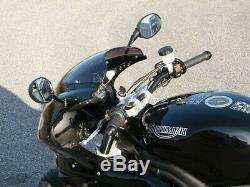 LSL Superbike Gabelbrücke Triumph Daytona 955i (595N) 04-06 schwarz