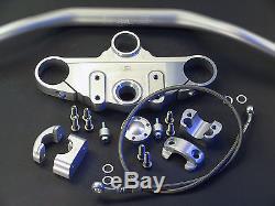 LSL Superbike Gabelbrücke für X-Bar/Fatbar Lenker TRIUMPH Daytona 955 i ab'2004