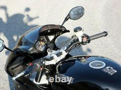 LSL Superbike X-Bar Lenker-Kit TRIUMPH Daytona 955i (595N) 04-06 silber