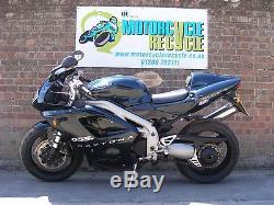 Look Triumph Daytona 955 955i 2002 Carbon Fibre Thigh Side Panels