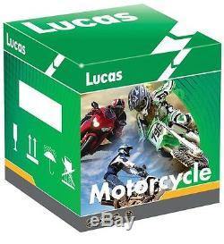 Lucas YTX14-BS Motorcycle Battery Triumph 955cc Daytona 955i Speed Triple Tiger