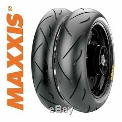 Maxxis Supermaxx Tyre Pair 120/70/17 + 190/50/17 Triumph Daytona 955i 99-06
