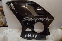OEM Triumph Daytona 955i Left Hand Fairing, Jet Black, T2304812