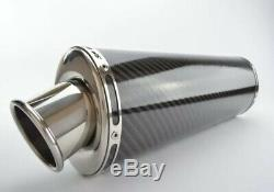 Race Can Triumph Daytona 955i 02-07 Carbon Fibre Exhaust Can. SP engineering