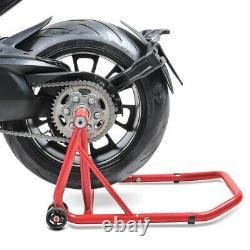 Rear Paddock Stand Triumph Daytona 955i/955 i red Motorcycle Motorbike rear