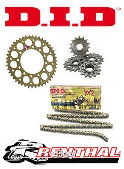 Renthal / DID Chain & Sprocket Kit to fit Triumph 955i Daytona 2002