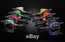 Spiegler Evolution Hebel-Set für Triumph Daytona 955i (T595) 97-03 in schwarz